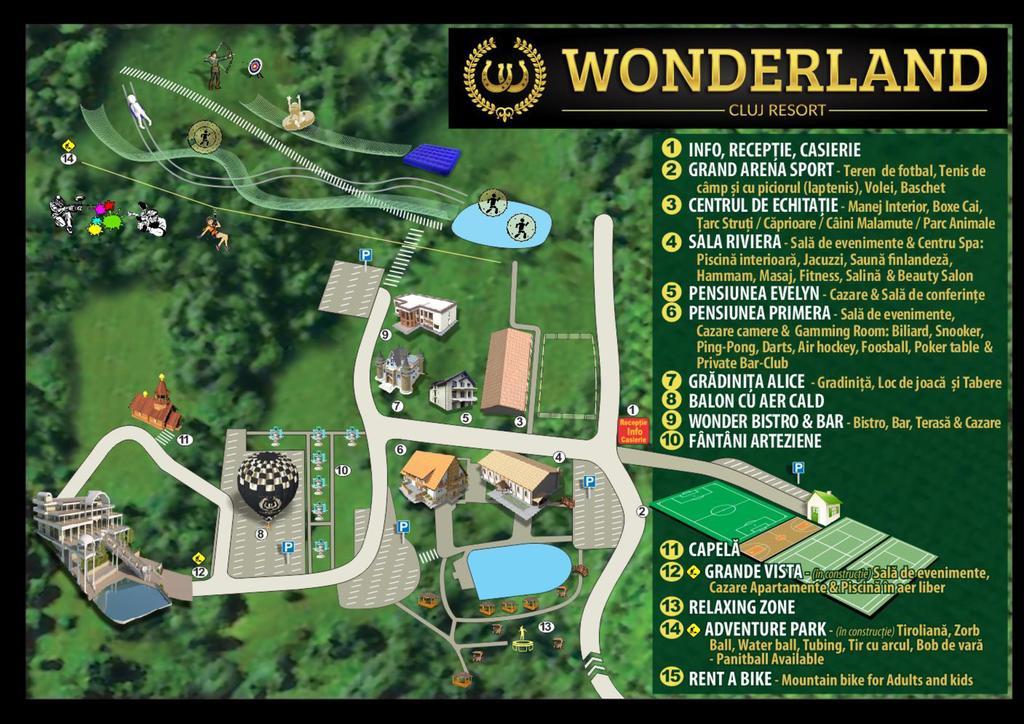 Harta Wonderland Cluj